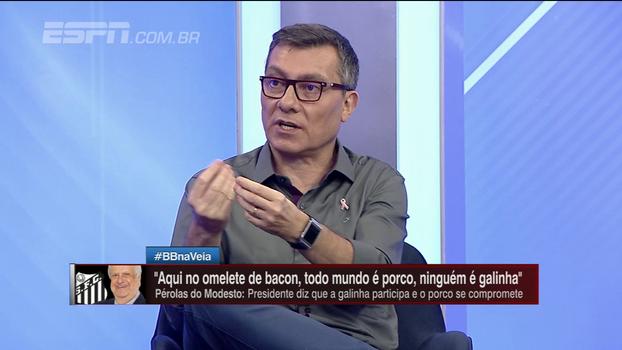 Trabalho ruim de Levir ou elenco fraco? João 'Canalha' e Paulo Calçade divergem sobre momento do Santos