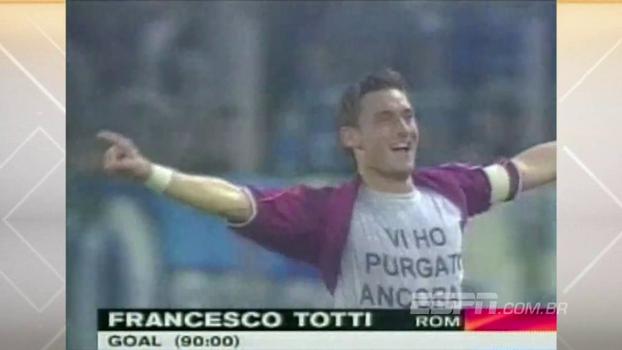 Derby della Capitale: com gols de Delvecchio e Totti, Roma acabou com a invencibilidade da Lazio em 99