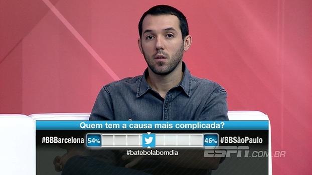 BB Bom Dia projeta Barcelona x Juventus; Para Hofman, equipe de Messi não consegue a virada