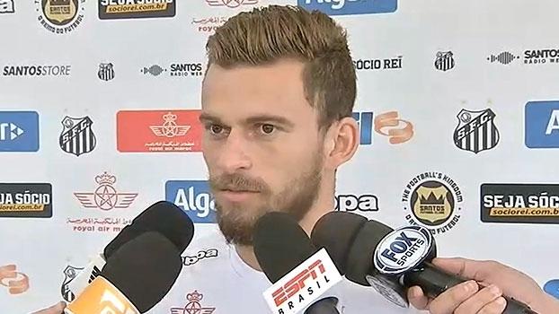 Lucas Lima projeta vitória diante do Atlético-PR: 'Vila é nossa casa, temos que ganhar'