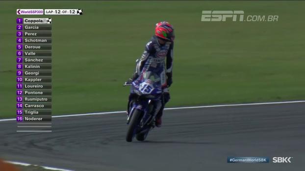 Em corrida emocionante, Coppola vence etapa da Alemanha do Mundial de Supersport 300