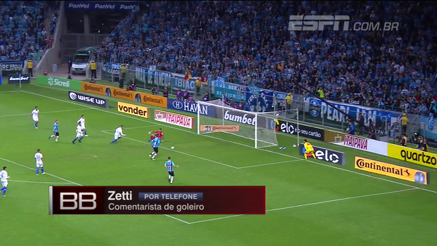 Fábio falhou ao espalmar para o meio? Zetti responde: 'Grande defesa no primeiro momento'