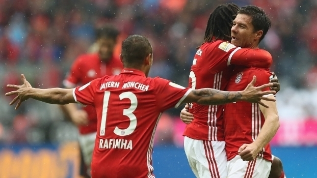 Alemão: Gols de Bayern de Munique 3 x 1 Ingolstadt