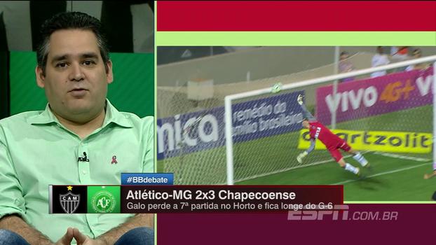 Para Bertozzi, há muitos jogadores desinteressados no Atlético-MG: 'Caso do Elias é o mais evidente'