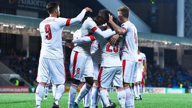 3a3865af1d82e Suíça vence Andorra e segue líder do grupo de Portugal nas eliminatórias  europeias
