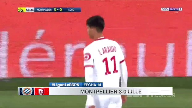 Com Thiago Maia e Luiz Araújo, Lille perde outra e amarga a vice-lanterna do Francês