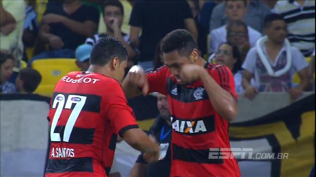 Hernane brilhou, e Flamengo passou pelo Botafogo na Copa do Brasil de 2013; reveja
