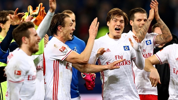 Hamburgo vence o Hertha Berlin e se afasta da zona de rebaixamento