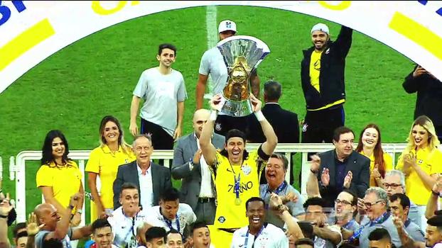 De quarta força ao título: o resumo do Corinthians no Campeonato Brasileiro