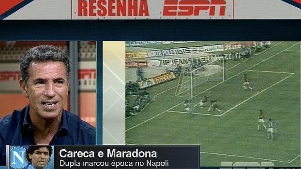 Careca fala sobre convivência com Maradona: 'Defendia que premiação tinha de ser igual para os roupeiros'