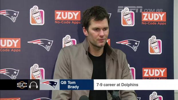 Após derrota para os Dolphins, Brady chama responsabilidade: 'Eu preciso jogar a bola melhor; começa comigo'
