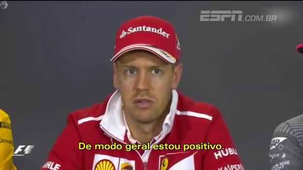 Em disputa acirrada com Hamilton, Vettel vê Ferrari em ano positivo até aqui