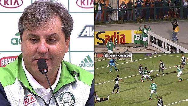 Última vez que Palmeiras venceu Ponte por três gols foi em 2012. E Kleina era o técnico; reveja