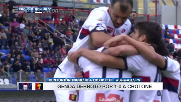 Genoa vence Crotone fora de casa e conquista segunda vitória do campeonato italiano