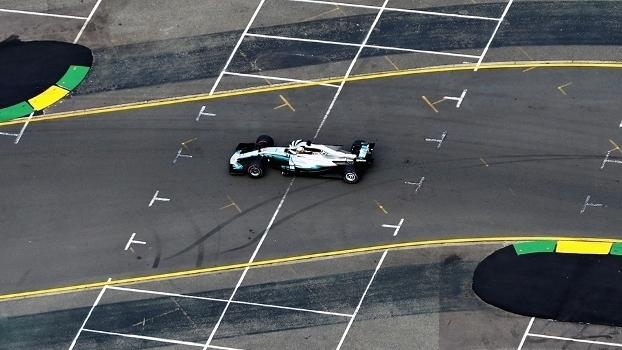 Veja as imagens do treino qualificatório do GP da Austrália