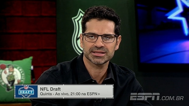 No 'ESPN League', Paulo Antunes avalia principais prospectos do Draft da NFL