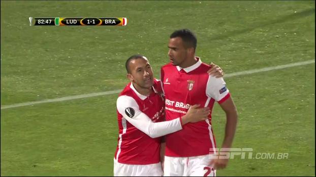 Assista aos melhores momentos do empate entre Ludogorets s e Braga em 1 a 1!