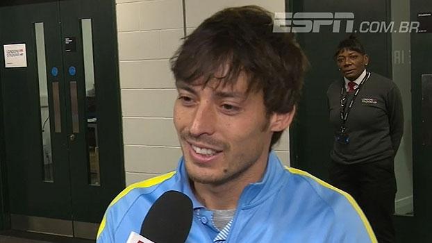 De fora na goleada do City, Gabriel Jesus ganha elogios e confiança de companheiros - ESPN