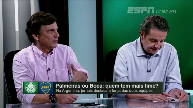 Mauro pondera queda de rendimento e questiona Tevez no Boca: 'Está fazendo vestibular para Adriano'