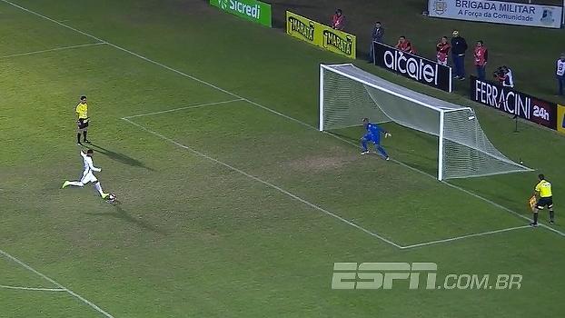 Gaúcho: Gol de Caxias 1 (3) x (5) 0 Internacional