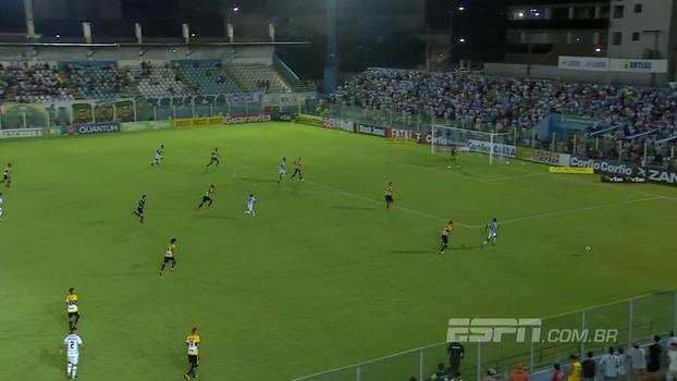 Série B: Gol de Paysandu 1 x 0 Criciúma
