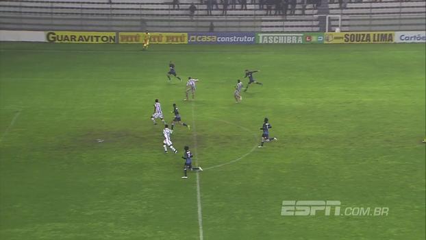 Confira os gols de Juventude 0 x 2 Londrina