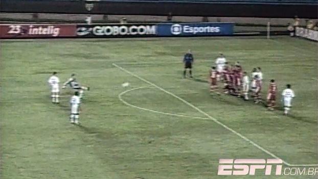 Em 2000, Rogério Ceni marcou o milésimo gol do São Paulo na história do Campeonato Brasileiro; relembre