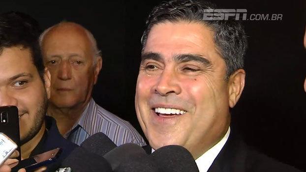 Novo presidente do Atlético-MG garante estar preparado para o cargo: 'Já chupei muita laranja dentro de vestiário'