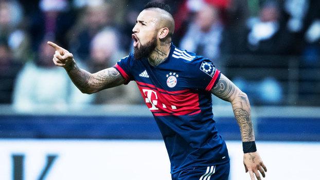 Veja o gol da vitória do Bayern de Munique sobre o Eintracht Frankfurt por 1 a 0 pela Bundesliga