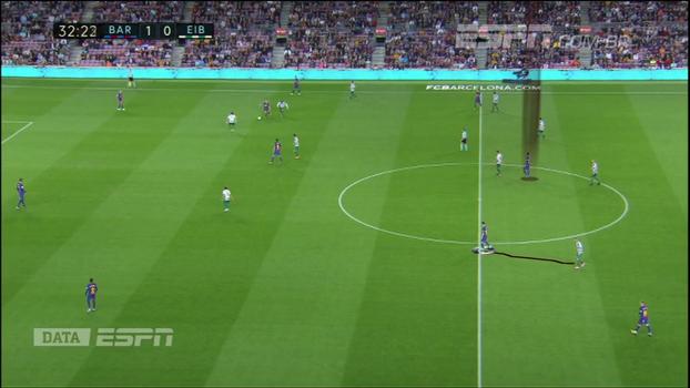 Quase como centroavante: Calçade e DataESPN analisam movimentação de Paulinho no Barcelona