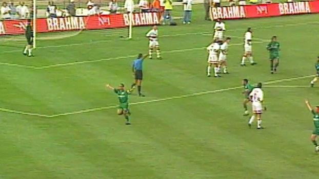 Com gols de Zinho e Oséas, Palmeiras superou São Paulo em 1997