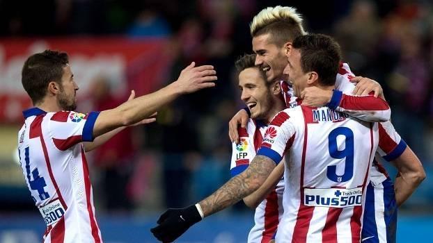 Assista aos melhores momentos da vitória do Atlético de Madri sobre o Almería por 3 a 0!