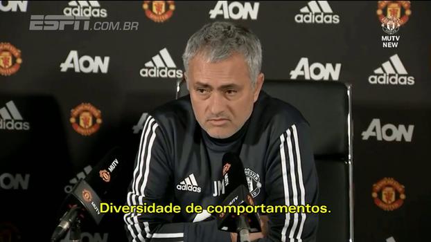 Mourinho minimiza confusão com jogadores do City e fala em 'diversidade de educação'