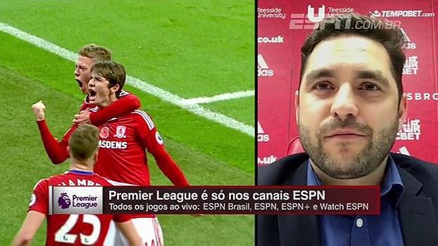 Estádios cheios, nível técnico alto... Olheiro do Middlesbrough elogia a Premier League: 'Parece filme'
