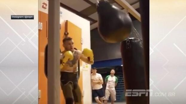 Vem, Mayweather! McGregor posta vídeo de treinos de boxe