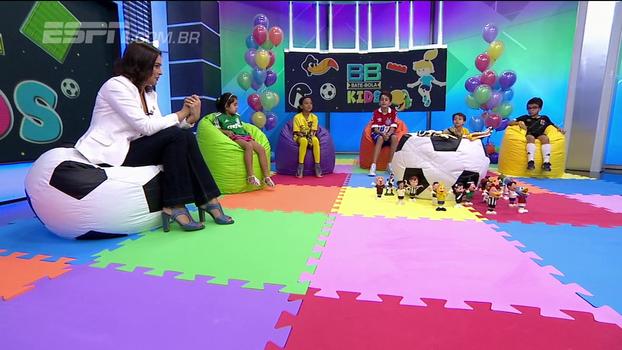 Juninho, Prass, Cássio e outros ídolos mandam recados para os pequenos torcedores no BB Kids