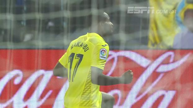 Com hat-trick de Bakambu, Villarreal supera Eibar e segue no meio da tabela na LaLiga