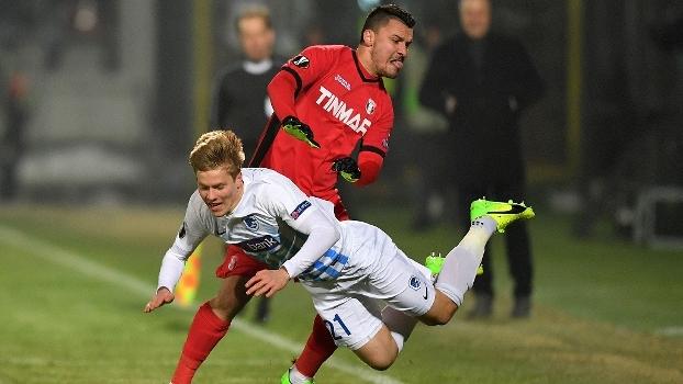 Europa League: Gols de Astra Ploiesti 2 x 2 Genk