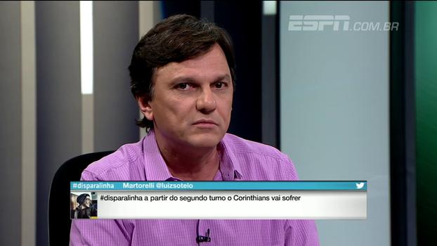 Mauro vê Corinthians absoluto no clássico: 'Se tivesse mais fome, teria feito mais'