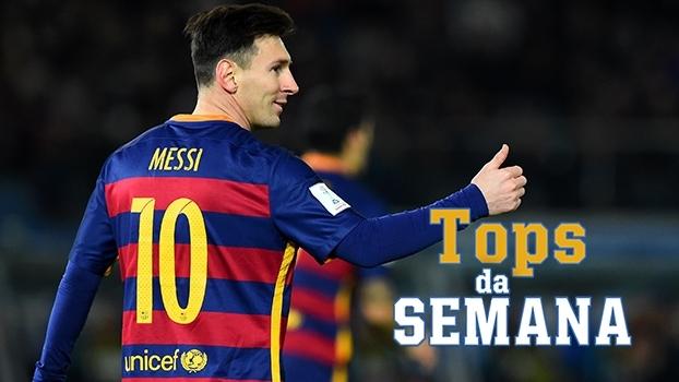 Hat-trick de Messi, Bale arrebenta na estreia de Zidane e Higuaín goleador no Tops da Semana