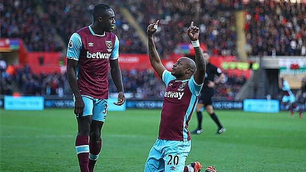 West Ham goleia fora de casa e segue recuperação na Premier Leauge
