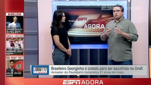 'Eu acredito no Georginho'; Bulgarelli traz possibilidades para atletas brasileiro no Draft da NBA