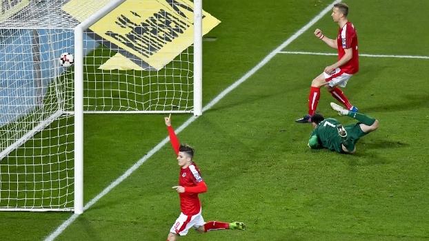 Veja os gols da vitória da Áustria sobre a Moldávia por 2 a 0