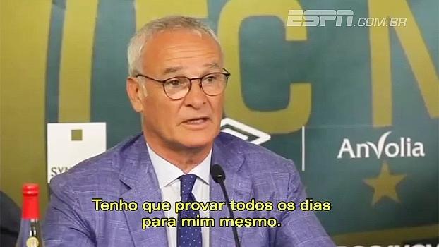 Ranieri é apresentado no Nantes: 'Acredito que esse clube ajudará a melhorar minha carreira'