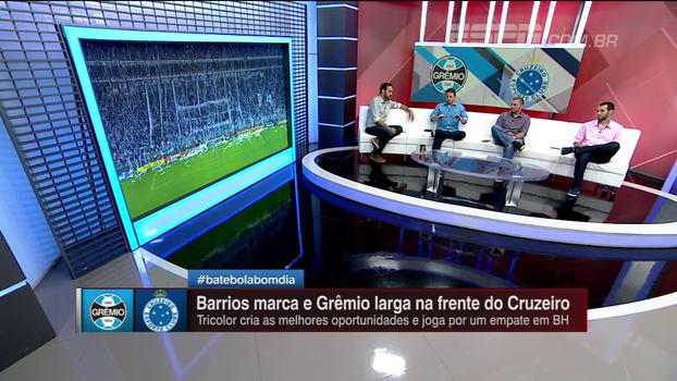 Mario Marra vê primeiro tempo como determinante na vitória do Grêmio sobre o Cruzeiro