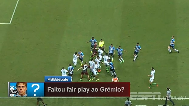 Veja como foi a confusão por 'fair play' no jogo entre Grêmio x América-MG