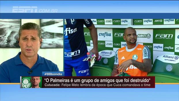 Jorginho elogia caráter e sugere cuidado a Felipe Melo: 'Nem sempre você pode falar aquilo que você pensa'