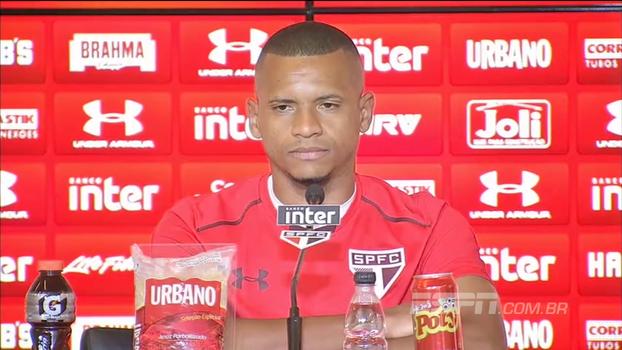 Edimar nega problemas de Cícero com o grupo no São Paulo: 'Ele é meu amigo'