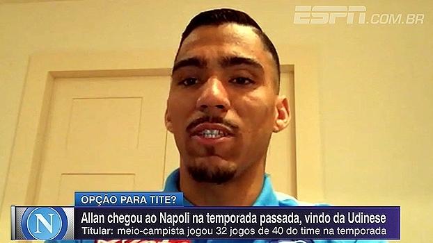 Allan fala sobre eliminação do Napoli para o Real Madrid na Champions League