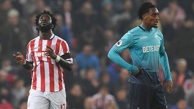 Premier League: Melhores momentos de Stoke City 3 x 1 Swansea